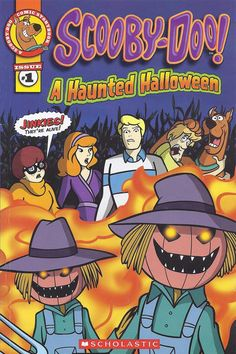 TV's funniest dog goes comic! Someone in Banning Junction is burning creepy patterns in the cornfields. Seems like a ghost is out to ruin the annual Halloween party! Can Scooby and the gang solve the case and save the celebration? Scooby Doo Halloween, Halloween News, Halloween Books, Halloween Signs, Spooky Halloween, Halloween Party, Cartoon Shows, Cartoon Characters, Comic Book Covers