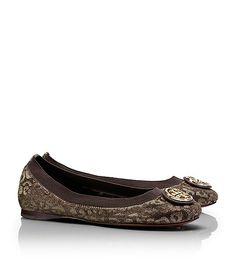Tory Burch Leopard Caroline Ballet Flat