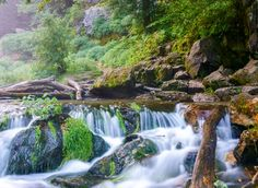 Water in Motion Long Exposure | Waterfalls at Willow River State Park