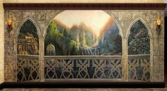 Rivendell Balcony by ~filiusdracul on deviantART