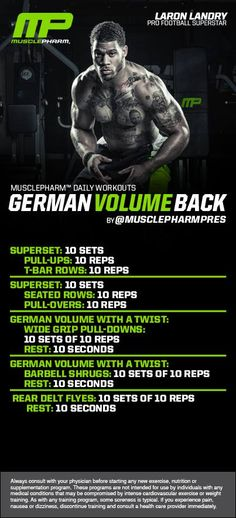 German Volume Back