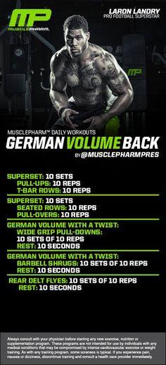 German Volume Back