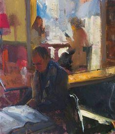 Duane Keiser (USA, 1966) - Coffee Shop, 2014