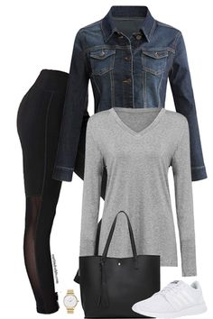 Casual Fall — Outfits For Life Casual Winter Outfits, Winter Fashion Outfits, Look Fashion, Stylish Outfits, Spring Outfits, Autumn Fashion, Cute Outfits, Fashion Dresses, Fashion Magazin