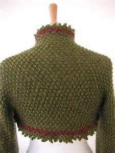 Holly Berry Shrug Knitting Pattern Image