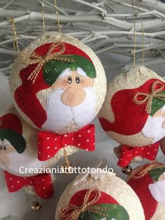 Quilted Ornaments, Beaded Christmas Ornaments, Christmas Items, Felt Ornaments, Handmade Christmas, Christmas Stockings, Christmas Holidays, Xmas, Christmas Tree