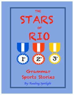 New!  Motivating!  Effective!    Use the hype of the Summer Olympic Games as an enjoyable and exciting inspiration for practicing spelling and grammar skills! These stories are so much better than boring, ordinary, grammar practice pages!  Includes Answer Keys, explanations for all corrections, as well as PAPER MEDALS to award! Grades 4-10.