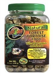 ZooMed Natural Forest Tortoise Food 8.5 oz