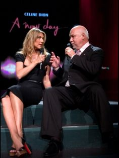 Céline Dion et René Angélil ☝️Las Vegas 2005