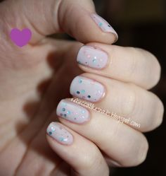 glitter in the air + extra glitter! | rebecca likes nails