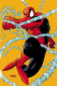 Spider-Man...It's poses like this that let you know Todd Mcfarlane drew them! AWESOME!