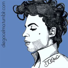 RIP Prince #Prince #PrinceRogersNelson #TheArtist #TAFKAP #TheArtistFormerlyKnownAsPrince #RIP #RIPPrince #legend #music #artist #singer #actor #eclectic #illustration #illustrationoftheday #loss #restinpeace #icon #drawing #sketch #pencilsketch #art #artwork #fanart https://www.facebook.com/diegocelmailustrador