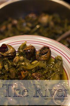 • #Κουκιά δροσερά με #χοχλιούς . Αυθεντική Κρητική Κουζίνα ! www.about.me/theriverrestaurant  • #Broad #beans with #snails . Authentic Cretan Cuisine ! www.about.me/theriverrestaurant  | Copyright ©  2015 +The River Restaurant | #The_River_Restaurant #Ιεράπετρα #Ierapetra #Crete #Κρήτη   #CretanCuisine #CretanDiet #CretanGastronomy #CretanFood   #CretanCulinary #GreekGastronomy #GreekDiet #GreekFood #GreekCuisine #GreekCulinary #BroadBeans #Koukia #Χοχλιοί   #Σαλιγκάρια #Saligaria Sprouts, Seafood, Traditional, Vegetables, Ethnic Recipes, Kitchens, Sea Food, Vegetable Recipes, Veggies