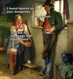 Memes have revitalized some classical art pieces from back in the day. Please enjoy this massive dump of hilarious captions and beautiful art. Renaissance Memes, Medieval Memes, Funny Art, Funny Memes, True Memes, Stupid Memes, Bel Art, Ancient Memes, Memes Arte