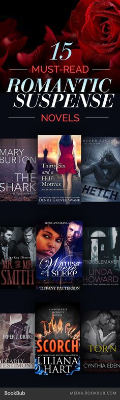 15 must-read romantic suspense novels, including reads from Maya Banks and T.M. Frazier.