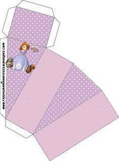 Princess Sofia the First Party Boxes, Free Printables. Princess Sofia Party, Princess Sofia The First, Disney Princess Party, Princess Birthday, Princesse Party, Minnie Mouse Birthday Decorations, Sofia The First Birthday Party, Printable Box, Free Printables