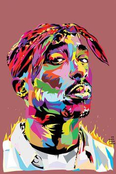 California Love T-Shirt-Tupac Shakur T-Shirt-Gangsta Rap-Mr. Arte Do Hip Hop, Hip Hop Art, Tupac California Love, Arte Bob Marley, Pop Art, Tupac Art, Arte Dope, Sketch Manga, Kunst Online