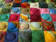 Ravelry: Button Quilt pattern by Frankie Brown
