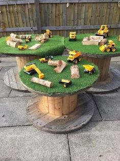 Image result for cable reel table for children