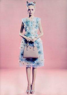modeavenueparis:    Siri Tollerød in Louis Vuitton | Ph: Marcin Tyszka | L'Officiel 03/12