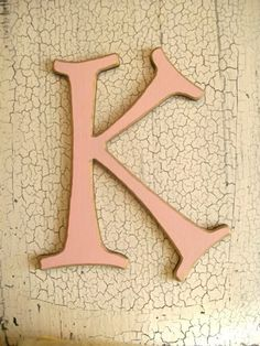 ThanksWall letter K awesome pin