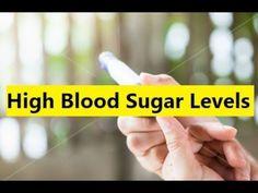High Blood Sugar Levels - Natural Blood Sugar #bloodsugar
