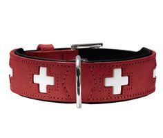 #Collare #rosso per #cani   #HunterSwiss #Hunter #Swiss http://www.principini.it/prodotti/cani/collari-e-guinzagli-per-cani/collare-rosso-di-pelle