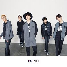 WINNER dazzles as mature men for NII's fall collection