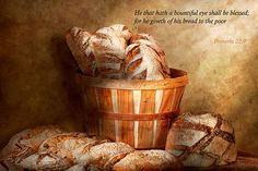 Food - Bread - Your daily bread Art Print by Mike Savad. All prints are professionally printed, packaged, and shipped within 3 - 4 business days. Daily Bread Bible, Daily Bread Prayer, Bread Art, Bread Food, Proverbs 22, Eating Alone, Thing 1, Buttermilk Biscuits, Bread Recipes