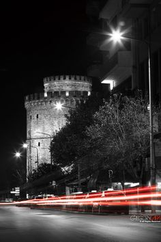 White tower at Thessaloniki