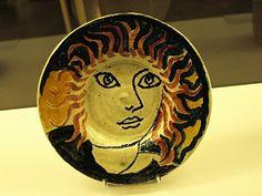 plate by Duncan Grant for Omega Workshops