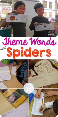 Proud to be Primary's Learning about Spiders: Tons of science and ELA activities to use in your primary classroom to teach spiders.