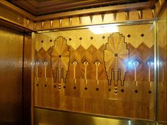 Marine Building elevator Palaces, Monuments, Vancouver Architecture, Deco Marine, Elevator, Building, Home Decor, Woodwork, Brick