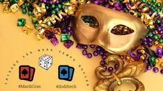 Let The Good Times Roll!  #mardigras #fattuesday #doddtech #baccarat #blackjack