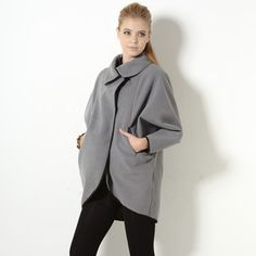 Buy 'YesStyle Z – Batwing-Sleeve Piped Cocoon Coat' with Free International Shipping at YesStyle.com. Browse and shop for thousands of Asian fashion items from Hong Kong and more!