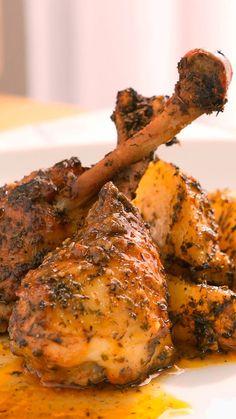 Chicken Recepies, Roast Chicken Recipes, Salad Recipes, Diet Recipes, Cooking Recipes, Easy Cooking, Healthy Cooking, Heart Healthy Chicken Recipes, Pollo Recipe