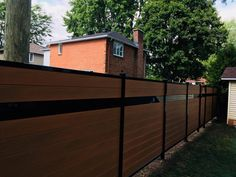We have found the perfect ratio between plastic and wood that equally prioritizes the longevity and appearance of our composite fence boards and aluminum frame structure. Composite Fencing, Privacy Fence Designs, Fence Boards, Tropical Colors, Rock Wall, Outdoor Living, Outdoor Decor, Wood Colors, Backyards