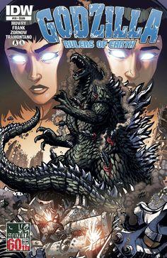 Godzilla Rulers of Earth #16 cover by KaijuSamurai on DeviantArt