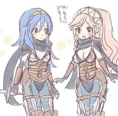 Lucina & Olivia ☆ Fire Emblem: Awakening. >>>Always Mother and Daughter in my accounts <3