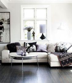 dark grey tone wood floor - Google Search