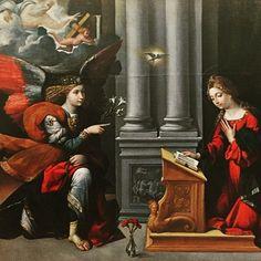 Missus est Gabriel (Girolafo 1528 Musées Capitolins Rome)  Messe du Mercredi des Quatre-temps de l'Avent chantée à 19h (messe dite messe d'or ou messe du Missus ou messe Rorate cœli)