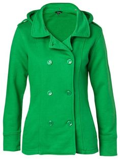 Being Green Peacoat  I want this!