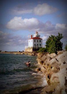 #OHIO waterfront beauty #lighthouse Lake Erie