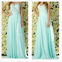 Chiffon Long Dress from The BEST OF BOTH WORLDS BOUTIQUE MONOGRAM AND GIFTS for $150.00