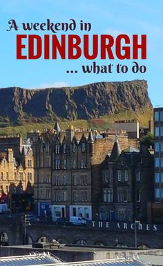 How to spend the perfect weekend in Edinburgh, Scotland. Where to eat, what to see and do, and plenty of travel tips :)