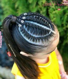 Latest Box Braids hairstyles Latest Box Hair Styles For Beautiful African Women, These are the most lovely box braids hairstyles you'. Kids Braided Hairstyles, Box Braids Hairstyles, Girl Hairstyles, Hairstyle Braid, Hairstyles 2018, Curly Hair Styles, Natural Hair Styles, Kim Kardashian Hair, Pinterest Hair