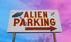 Imagen de alien, grunge, and parking