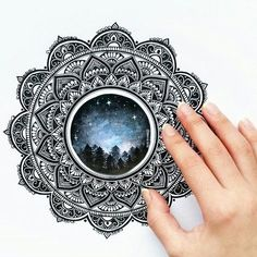 Beautiful mandala picture