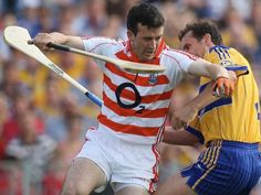 Keeper Donal Óg Cusack in action - County Cork Hurling