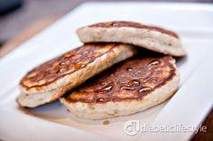 Just because you have diabetes doesnt mean you cant enjoy pancakes. DiabeticLifestyle has a diabetic recipe for banana yogurt pancakes.  Quick, simple, and like all recipes on DiabeticLifestyle, its a free diabetic recipe.  Also includes nutritional and diabetic exchange information.